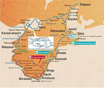 Ise-Kumano-Wakayama Area Tourist Pass