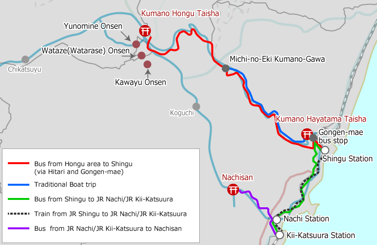Hongu Area to Nachisan Access