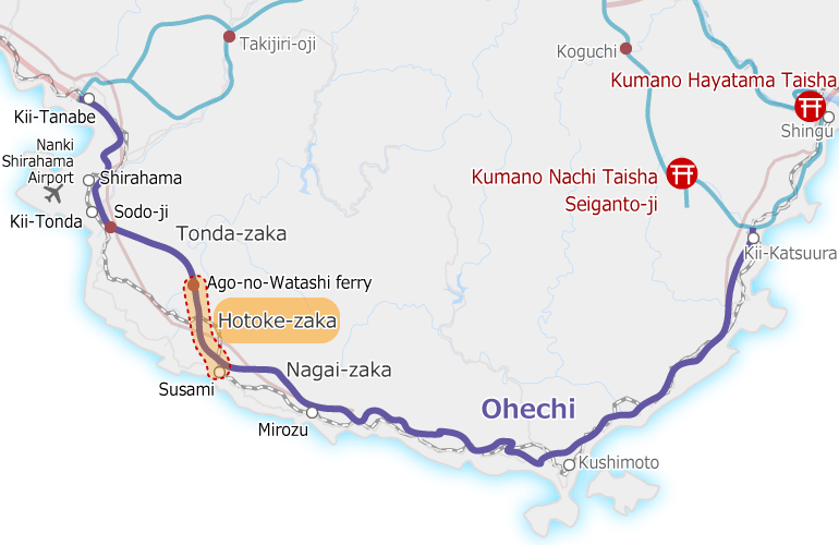 kumanokodo_ohechi_map Hotokezaka