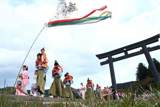 Kumano Hongu Taisha Spring Festival