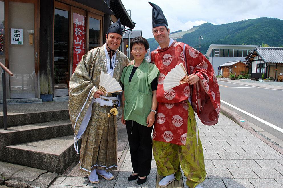 Kumano Kodo classic costumes