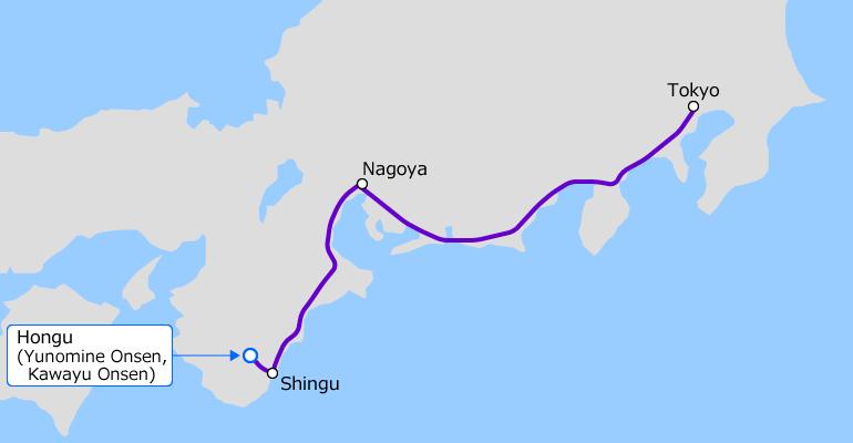 Hongu-Tokyo Nagoya