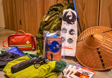 kumano-kodo-tips-backpack-contents