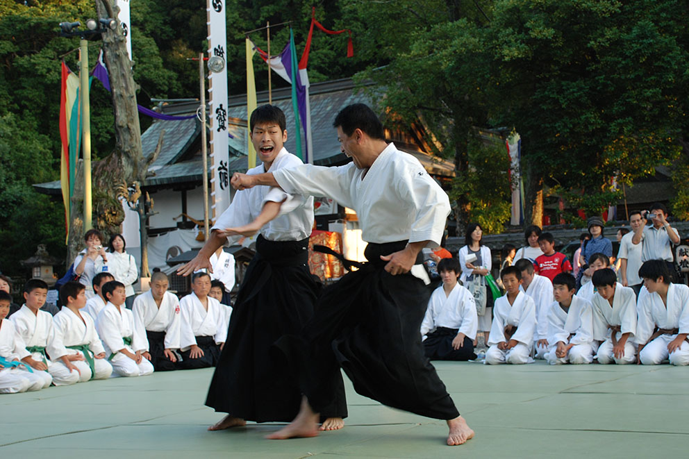 Aikido in Tanabe City, Japan