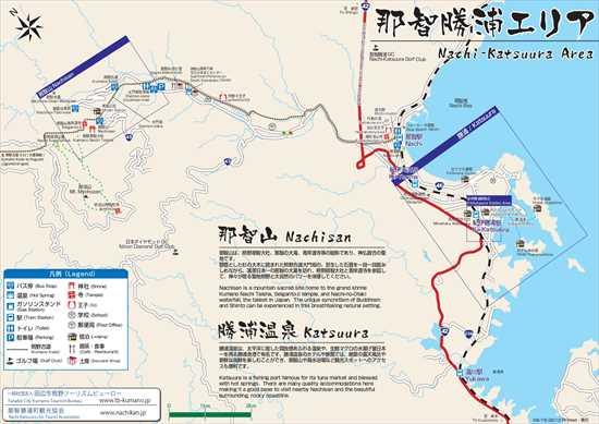 那智勝浦広域エリアマップ