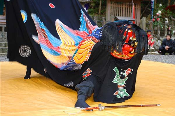 上野の獅子舞