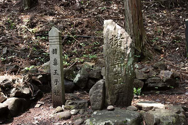 熊野古道中辺路 猪鼻王子